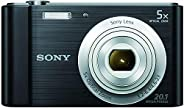 كاميرا سايبر شوت DSC-W800-20.1 ميجابيكسل من سوني، اسود