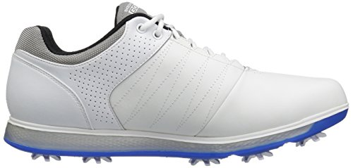 Skechers, Scarpe da golf uomo White/Gray/Blue