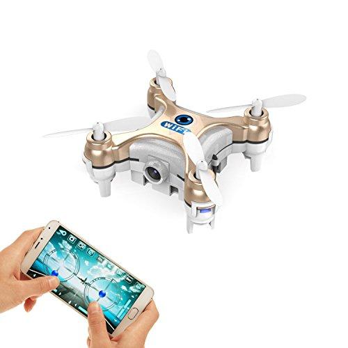 GoolRC Drone Mini con Cámara 0.3MP 2.4G 6Ejes Gyro (Dorado)