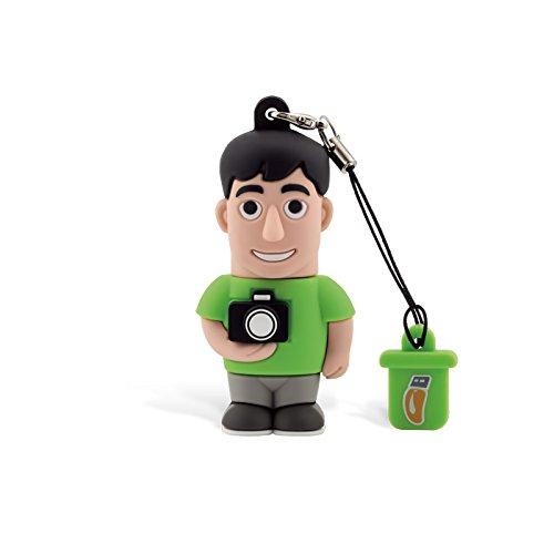 Professional Usb Fotografo, Simpatiche Chiavette USB Flash Drive 2.0 Memory Stick Archiviazione Dati, Portachiavi, Pendrive 8 GB
