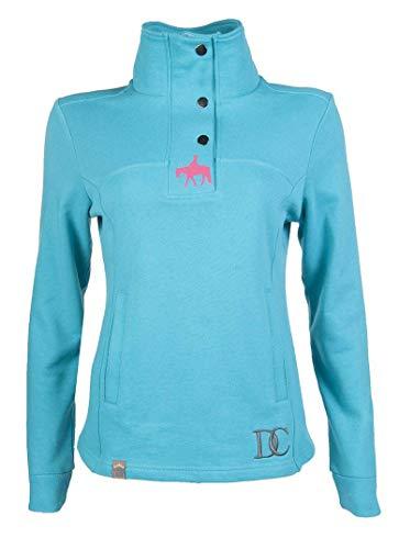 HKM Damen Sweatshirt Bluse grau, XL
