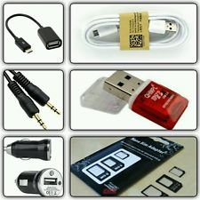 CLASSICO 1 OTG CABLE+1 DATA CUM CHARGING CABLE+1 AUX CABLE+1 MICRO USB CARD READER+1 CAR CHARGER+1 SIM ADAPTER ACCESSORIES KIT  available at amazon for Rs.182
