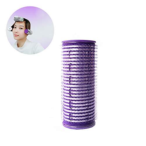 Wudi 1pc USB Kunststoff Lockenwickler DIY Clip Roller Hitze Lockenwickler Curls Bangs Salon Schellen für Frauen Mädchen Hairstyling Entwurf (lila) (Usb-lockenwickler)