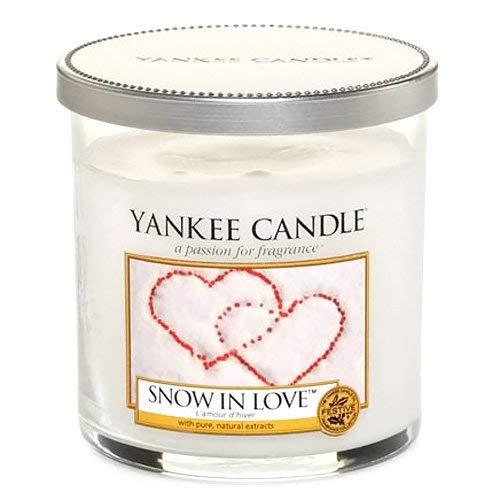 "Yankee Candle Yankee candle ""snow in love"" stumpenkerze weiß klein"
