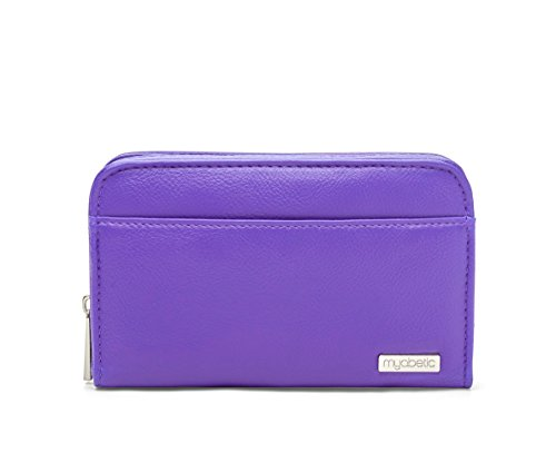 Myabetic Banting Diabetes Supply Case for Glucose Monitoring System, Insulin Pens, Insulin Vials, Test Strips, etc (Purple)