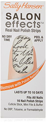 SALLY HANSEN Salon Effects Real Nail Polish Strips - Love Letter