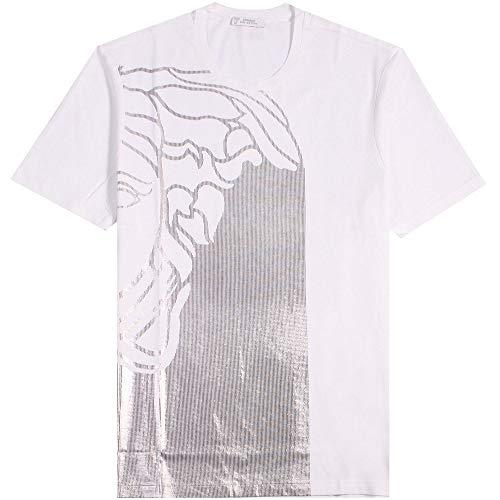 Versace Kollektion halb Medusa T-Shirt schwarz & Gold EXTRA Large White