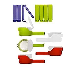 clip2friend set nr 1 12 teilig beutel klammer aromaclips m slispender beutel clip set mit. Black Bedroom Furniture Sets. Home Design Ideas