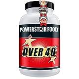 OVER 40, Dose 300 Kapseln, Nährstoffversorgung für Sportler im mittleren Alter, Anti-Aging-Produkt