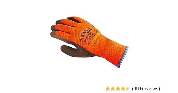 Kälteschutz Garten Handschuhe Gr.L-XXL Polyester//Baumwolle 6 Paar Nässe