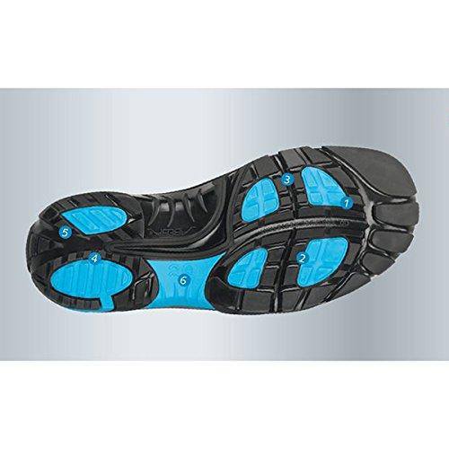 Abeba 87.632,5cm esd-crawler niedrig Sicherheit Schuh schwarz / blau
