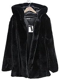 Amazon.fr   manteau fausse fourrure femme   Vêtements 4b97dcc0f7f1