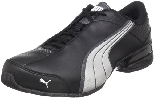 Puma Super Elevate Running Shoe Black / White / Dark Shadow