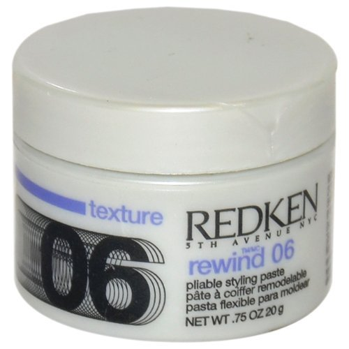 Redken Rewind 06 Pliable Styling Paste for Unisex, 0.75 Ounce by Redken