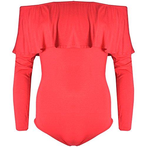 Verso Fashion -  Maglia a manica lunga  - Donna Red