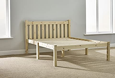 HEAVY DUTY Double 4ft 6 Pine Bed Frame - Includes