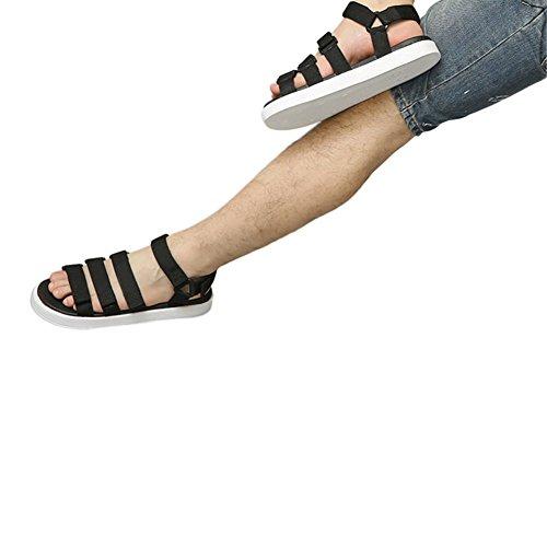 Zhuhaixmy Klassisch Männer Atmungsaktiv Strandschuhe Anti-Rutsch Hausschuhe Komfort Sandalen Sport Weiß