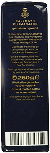 Dallmayr Kaffeerarität Kilimanjaro HVP, gemahlen,4er Pack (4x 250 g) - 3