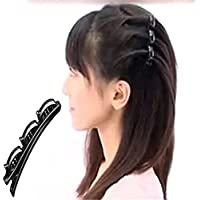 TQWY Design 2strati Donna Doppio Capelli Pin Clip Pettine parrucchiere