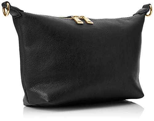 Swanky Swans - Caprice Shoulder Bag, Borse a tracolla Donna Nero (Black)