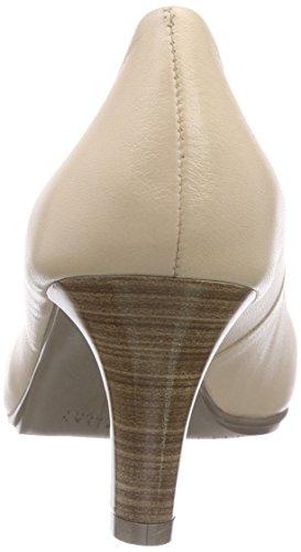 HispanitasParis - Scarpe con Tacco Donna Beige (Beige (SAUVAGE-V6 ECRU))