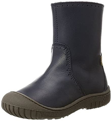 Bisgaard Unisex-Kinder Stiefel, Blau (600 Blue), 35 EU