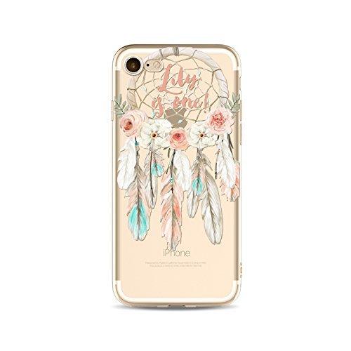 Coque iPhone 6Plus/6s Plus Housse étui-Case Transparent Liquid Crystal Capture de Rêve en TPU Silicone Clair,Protection Ultra Mince Premium,Coque Prime pour iPhone6Plus/6s Plus-style 15 style 5