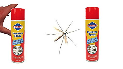 Centralin Gerzett Insekten Spray, (2 x 300ml Dose)