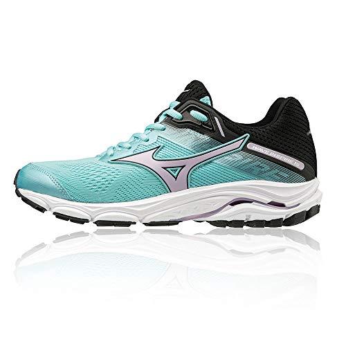 Mizuno Women Wave Inspire 15 Stability Running Shoe Running Shoes Mint - Black 5
