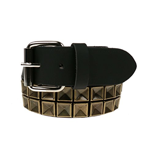 Bullet69 - Cintura - Uomo Brass Pyramid XL 101,6 cm-111,76 cm