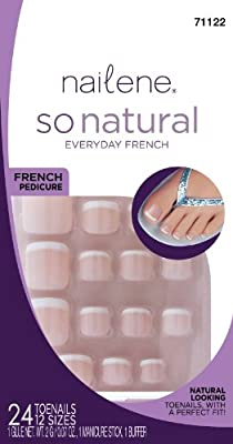 Nailene So Natural Toenails