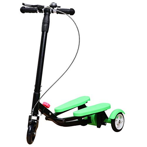 HYE-ROLLER Scooter Kids Pedaling Stepper Scooter Faltbare