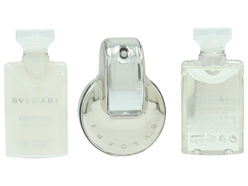Bvlgari Omnia Crystalline Set (Eau de Toilette Spray, 40 ml, Body Lotion,...