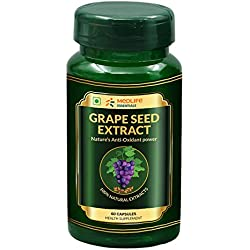 Medlife Essentials Grape Seed Extract | Anti-Aging & Immunity | 60 Tablets
