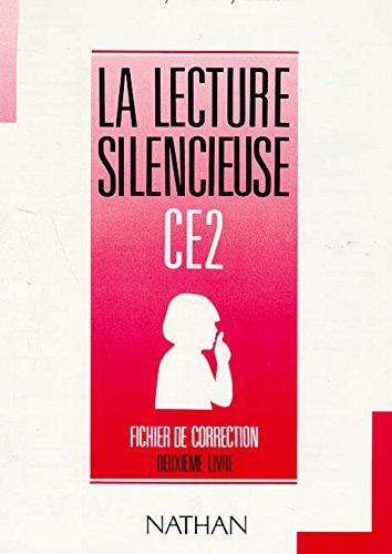 Lecture silencieuse et active, CE2, 2e livre, fichier autocorrectif