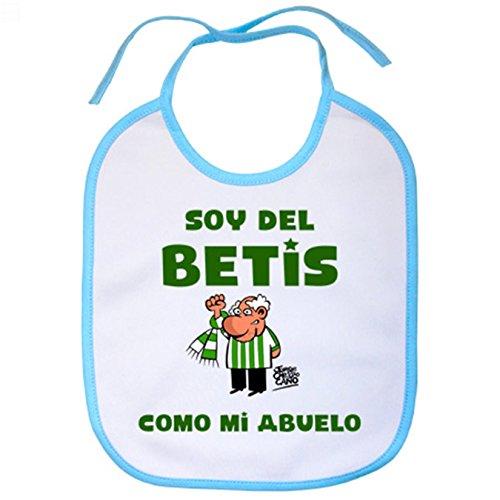 Babero Real Betis soy Betis como mi abuelo