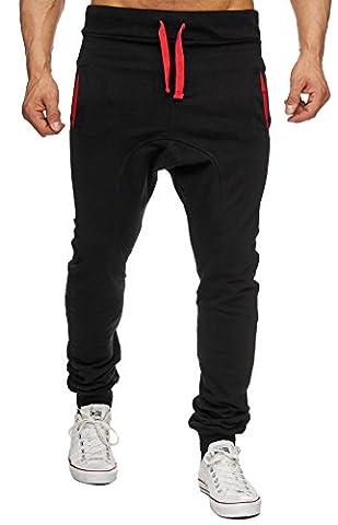 MERISH Hommes Pantalon de Jogging moderne Bicolore pantalon de sport