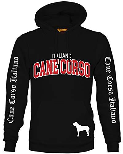 Cane Corso Italiano Hund Hoodie Unisex Sweatshirt Extreme Hundemotiv Größe L