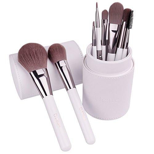 ducare set pennelli make up professionali da 8 pezzi set di pennelli trucco per trucco fondotinta cipria crème liquido