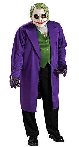 (Herren Kostüm Batman The Joker Dark Night Gr. XL 56/58 - Erwachsen)