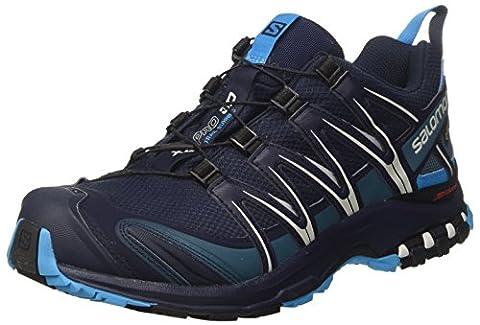 Salomon Xa Pro 3D Gtx, Chaussures de Trail Homme, Bleu (Navy Blazer/Hawaiian Ocean/Dawn Blu), 45 EU
