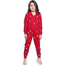 Italian Fashion IF Pijama Entero Una Pieza Ropa de Cama Unisexo Niños IF180031