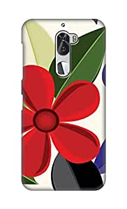 ZAPCASE Printed Back Cover for Coolpad Cool 1