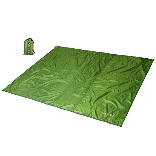 KUMFI Outdoor Camping Shelter Tent Tarp Canopy Cover Groundsheet Mat for Fishing, Beach, Hiking, Backpacking