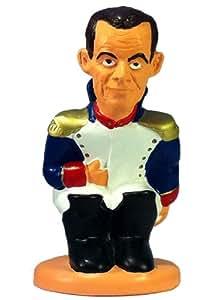 Caganer Sarkozy Napoléon - Figurine de collection en résine peinte à la main - Edition limitée