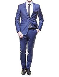 Jean Louis Scherrer - Costume Sch041 Fild Uni Bleu Ralf