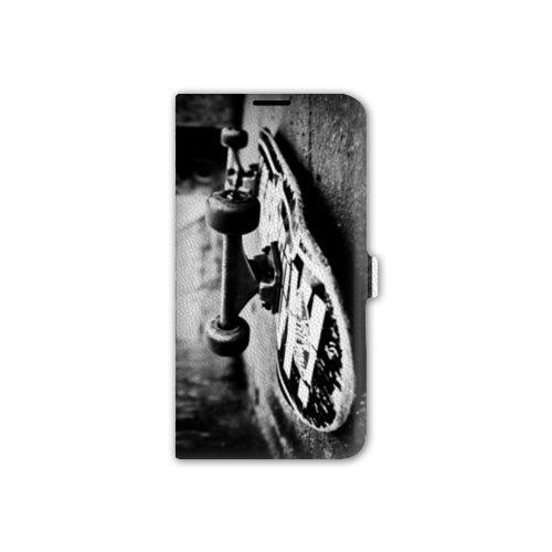 Leather Flip Case Asus Zenfone 2 ZE500KL / ZE 500 KL Sport Glisse - Skate  Vintage B