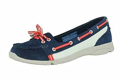 Rockport cycle motion boat shoe chaussures bateau femme bleu blanc rouge adiprene by adidas ROCKPORT T:37 1/2