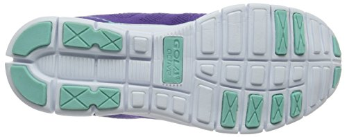 Gola Tempe, Scarpe Sportive Indoor Donna Viola (Purple/mint)