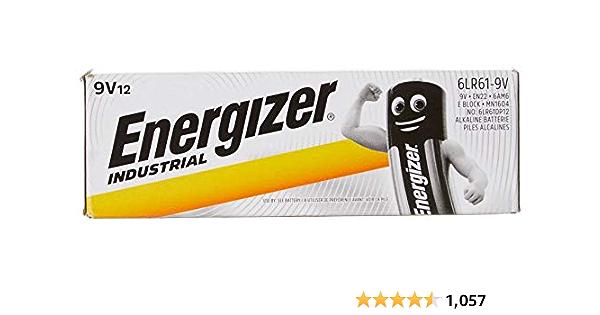 Energizer 9v Industrial Disposable Battery Elektronik